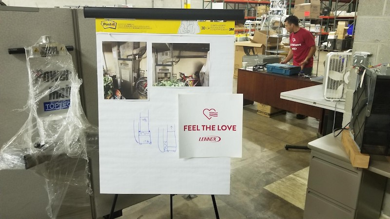 Feel The Love Installation Plan Presentation