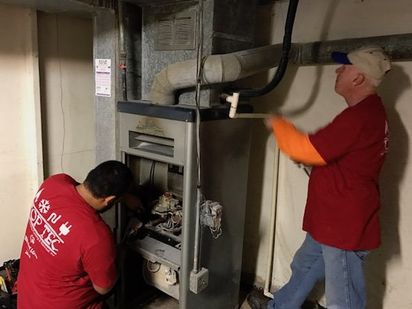 REMOVAL OF OLD FURNACE