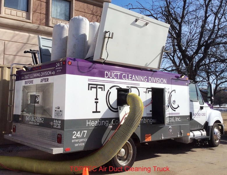 TopTec Air Duct Cleaning Truck