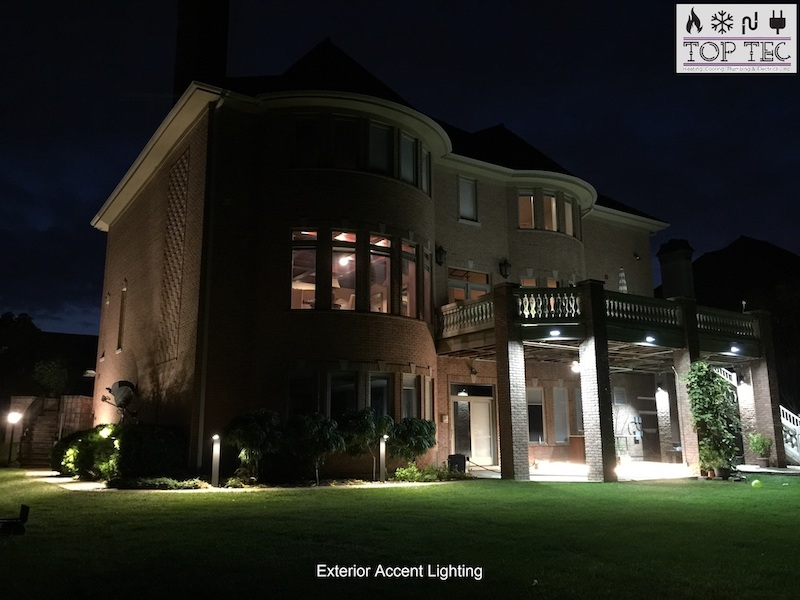 Exterior accent lighting - TopTec
