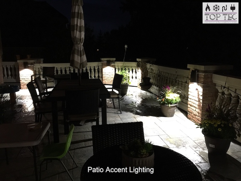 Patio accent lighting - TopTec