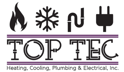 TopTec Heating, Cooling, Plumbing & Electrical Logo